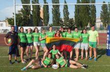 Moterų regbio rinktinė Slovakijoje užėmė 11-ąją vietą