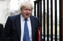 """B. Johnsonas: nunuodyti buvusį Rusijos agentą """"tikriausiai"""" nurodė V. Putinas"""