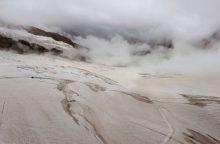 Tyrimas: 2018-aisiais smarkiai traukėsi Šveicarijos ledynai