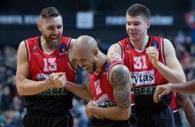 """""""Lietuvos rytas"""" iškovojo pirmąją pergalę Europos taurės """"Top 16"""" etape"""