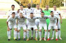 """""""Sūduvos"""" futbolininkai žengė į ketvirtąjį Europos lygos atrankos etapą"""