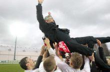 """""""Sūduvos"""" prezidentas V. Murauskas: čempionais švaistytis negalima"""
