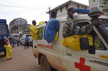 Potvynių Siera Leonėje aukų skaičius perkopė 400
