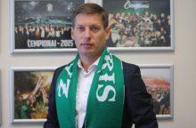 "S. Slyva dirbs Vilniaus ""Žalgirio"" klube"