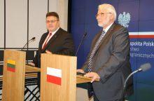 L. Linkevičius: Lietuva ir Lenkija susiduria su panašiomis grėsmėmis saugumui