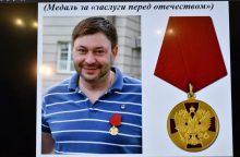 V. Putinas: Rusijos žurnalisto suėmimas Ukrainoje neturi precedento