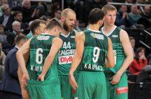"""Pirmoji pergalė svečiuose: """"Žalgiris"""" Belgrado pragare nukovė """"Crvena Zvezda"""" ekipą"""