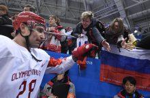 Rusai sutriuškino čekus ir žengė į olimpinių žaidynių finalą