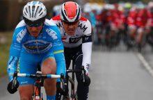 Dviratininkas E. Šiškevičius pirmajame lenktynių Gabone etape - 19-as