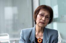 Hirošimos sprogimą išgyvenusi japonė: vis dar nekenčiu besileidžiančios saulės
