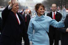 M. Trump per vyro inauguraciją žavėjo J. Kennedy stiliumi