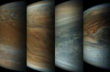 NASA zondo siunčiami duomenys glumina Jupiterio tyrėjus