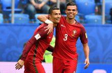 Portugalai sutriuškino Naujosios Zelandijos rinktinę