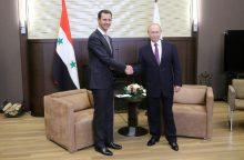 Sočyje susitiko Rusijos ir Sirijos prezidentai