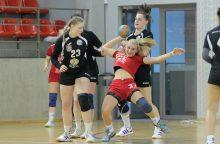Prasidėjo Lietuvos moterų rankinio lygos pusfinalio serija
