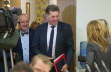 Socialdemokratai nusprendė pradėti derybas dėl koalicijos <span style=color:red;>(atnaujinta)</span>