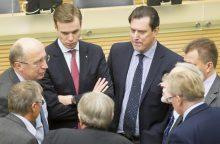 Konservatorius papiktino ministrų elgesys