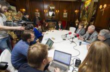 Lietuvos ir JAV žydų atstovai: Sporto rūmuose muziejaus negali būti