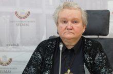 V. Targamadzė: mokslininkų sąlygos primena baudžiauninko dalią