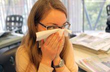 Uostamiestyje atšaukta gripo epidemija