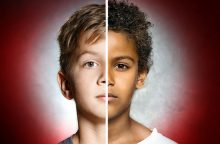 Prieš vaiką – rasistinis šou