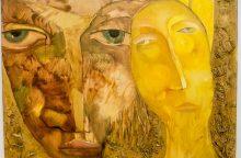 """""""Parko galerijoje"""" – charizmatiško kūrėjo tapyba su meilės ženklu"""