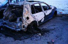 Sudega vis daugiau apleistų automobilių