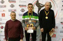 Lietuvos kikbokso čempionate – medalių lietus