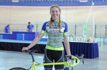 Europos čempionate aštuntąją vietą užėmė O. Baleišytė