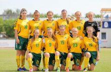 Lietuvos septyniolikmetės merginos laimėjo pirmąsias Baltijos taurės rungtynes