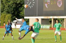 """""""Stumbro"""" puolėjas įmušė du įvarčius į """"Werder"""" vartus"""