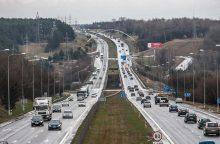 Magistralėje Vilnius-Kaunas – svarbios permainos