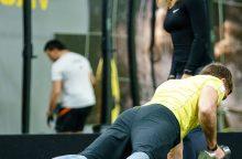 10 klaidų sporto salėje, kurias dažniausiai kartojame