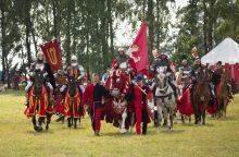Kariai ir karo istorijos klubai dalyvavo Žalgirio mūšio inscenizacijoje Lenkijoje
