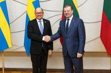 S. Skvernelis: Lietuva ir Švedija toliau puoselės EHU projektą