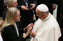 Popiežius ragina siekti dialogo tarp krikščionių ir musulmonų