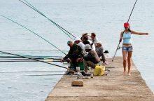Aplinkos ministras V. Mazuronis žvejams žada rojų