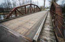 Vilnius statys naują tiltą per Vokės upę