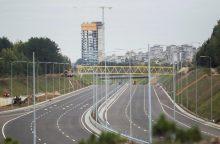 Vakarinio aplinkkelio II etapas užbaigtas, projekto vertė – 211 mln. Lt