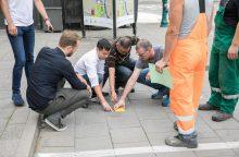 Vilniuje automobiliai bus statomi išmaniai