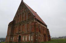 Zapyškio bažnyčios tvarkymo darbai prasidėjo skambant J. S. Bacho muzikai